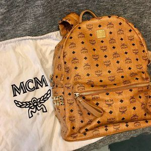 MCM Stark Side Studs Backpack Large